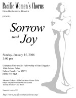 Sorrow and Joy